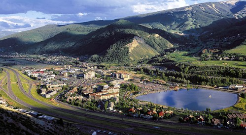 A scenic view of Beaver Creek Village.